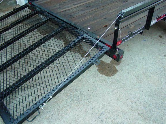 Dump Bed Tailgate Hinge Removable Pin : Trailer tailgate lift assist trailers pinterest