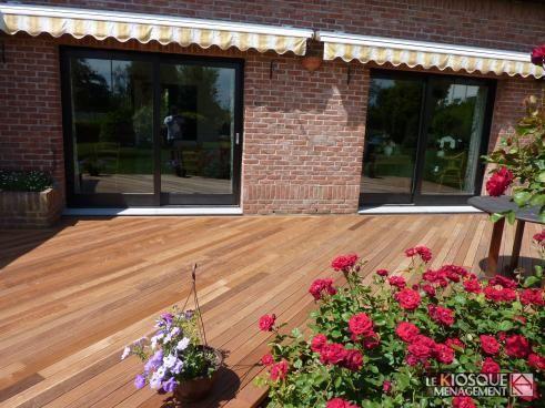 8 best Lames de terrasse bois exotique images on Pinterest Wooden - comment poser une terrasse bois