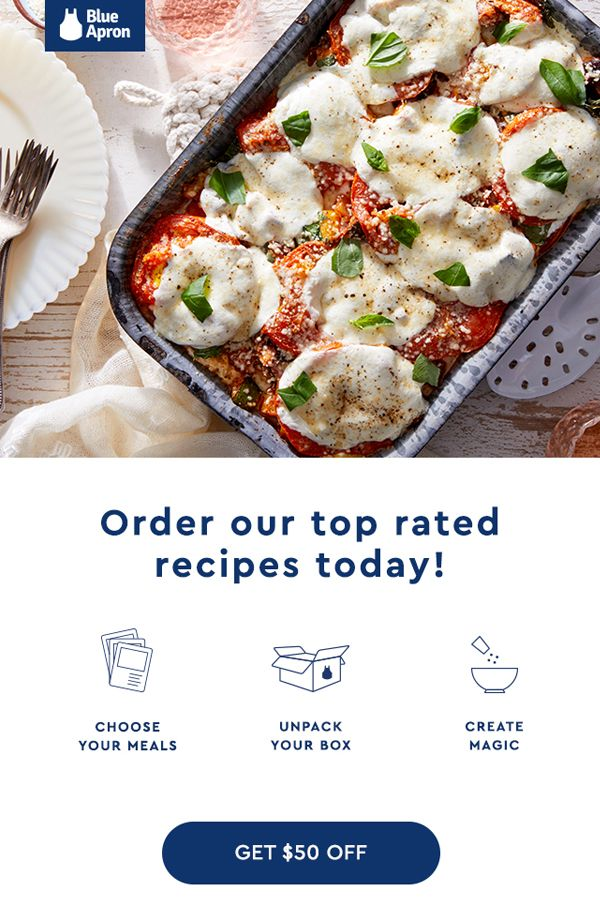 Get Everything You Need To Cook Incredible Meals Delivered Right To
