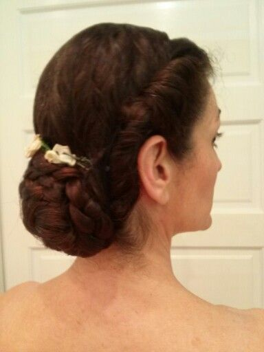 Civil War hairstyle side view