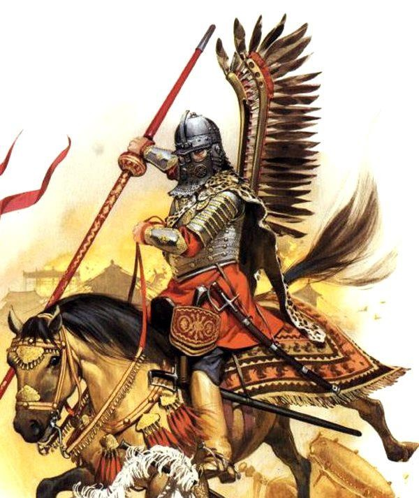 Polish Winged Hussar.