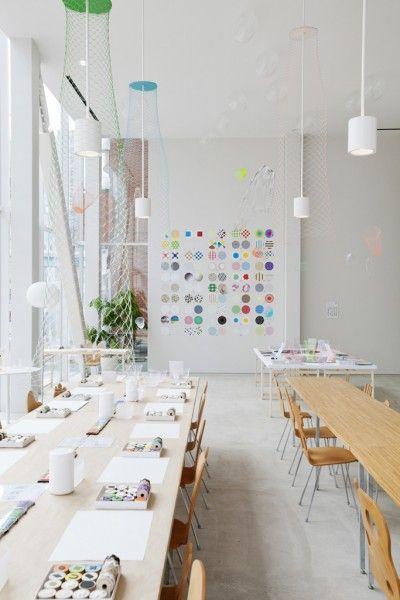 Ideias para a troca :)  SHIBAURA HOUSE: an incredible workshop space in Japan