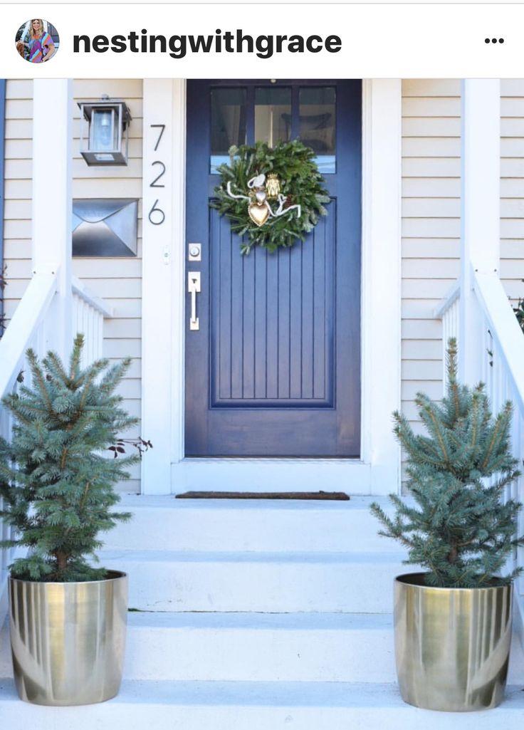 Valspar Blue Coal door