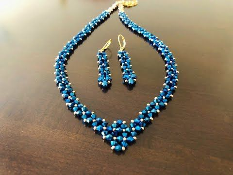 DIY Bicone Necklace || Simply Beaded Necklace – YouTube