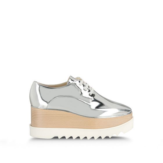 Stella McCartney - Chaussures argentées Britt - AI15 - f