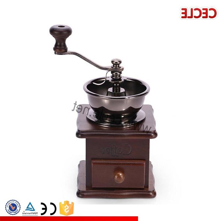 27.55$  Watch now - https://alitems.com/g/1e8d114494b01f4c715516525dc3e8/?i=5&ulp=https%3A%2F%2Fwww.aliexpress.com%2Fitem%2FA-retro-fashion-hand-cranked-coffee-grinder%2F32699059120.html - Retro beech wood hand grinder ceramic core manual coffee grinder mill grinding coffee beans 27.55$