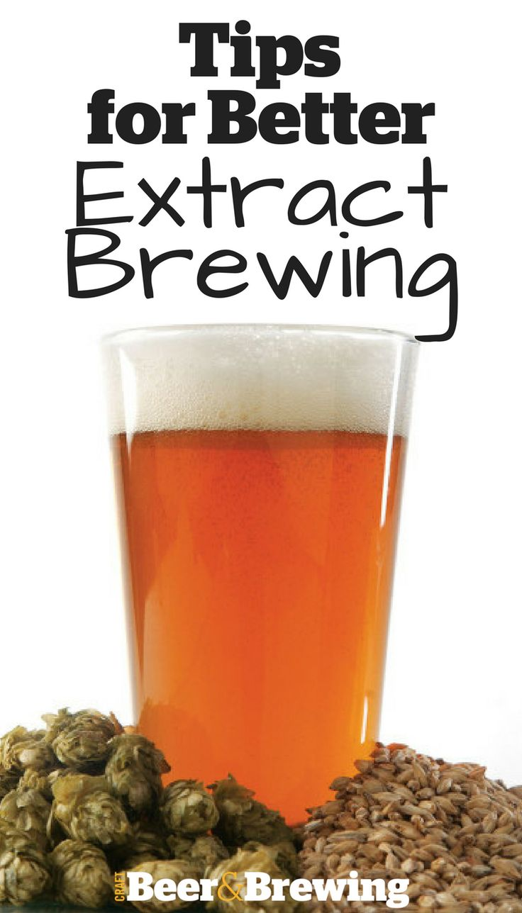 4 Steps for Better Extract Brewing