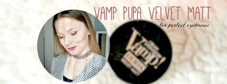 PUPA Velvet Matt - perfect eyebrows