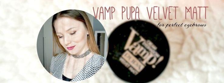 PUPA Velvet Matt - perfect eyebrows