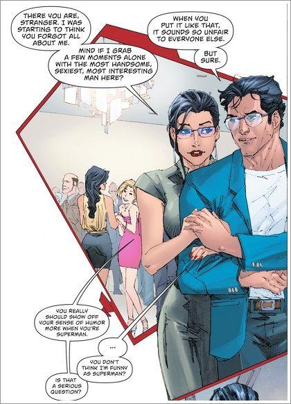 Wonder woman dating superman returns