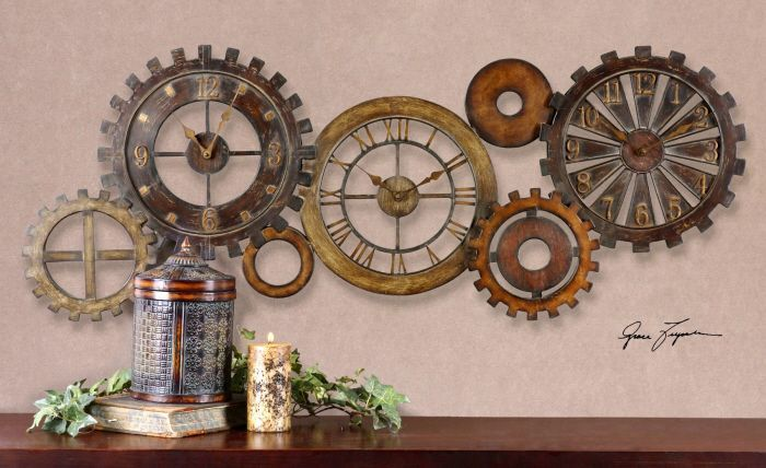 35 Best Steampunk Decor To Your Home Interior Design Ideas Wall