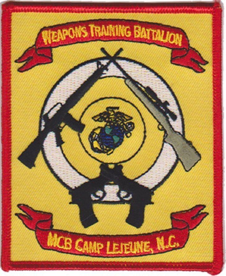 USMC Weapons Training Battalion Camp Lejeune, NC Patch