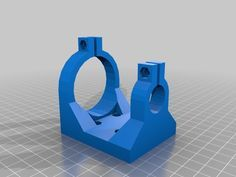 Dremel 395 adapter for Prusa I3 mount - by Batchkrazy - Thingiverse