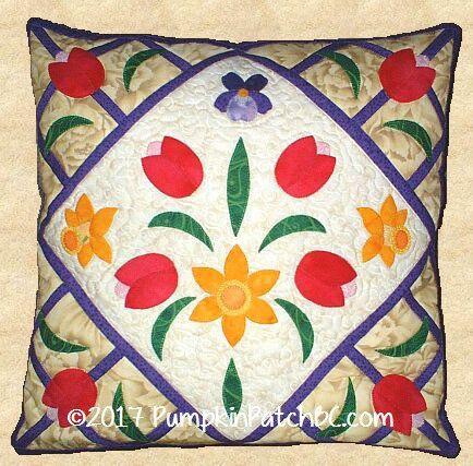 Spring Bouquet Pillow PPP004-EIN