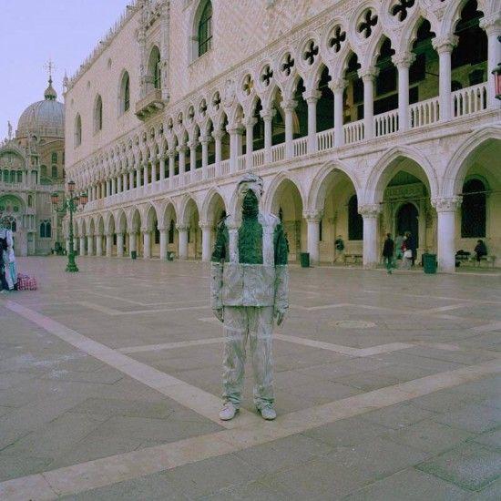 Invisible man in Venice