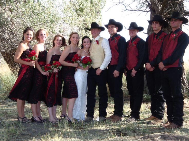 Cowboy Weddings Ideas: Cowboy Wedding Groomsmen Attire
