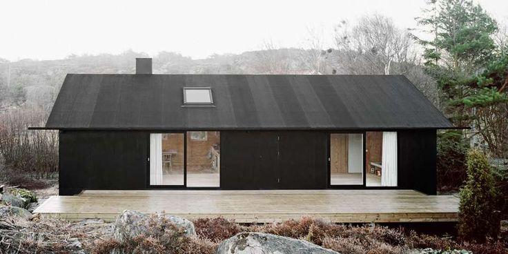 Arkitekthytta kunne ikke blitt enklere.