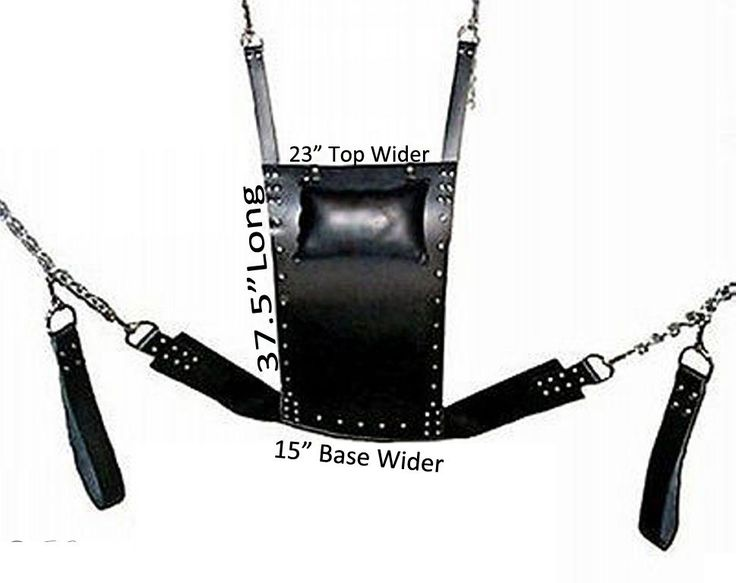 Leather swings adult