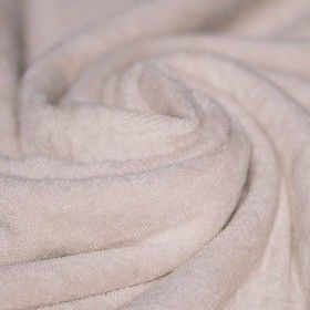 Frottee Stoff Stretch Beige