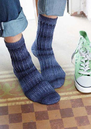 Denimlook kleur sokken | Schachenmayr