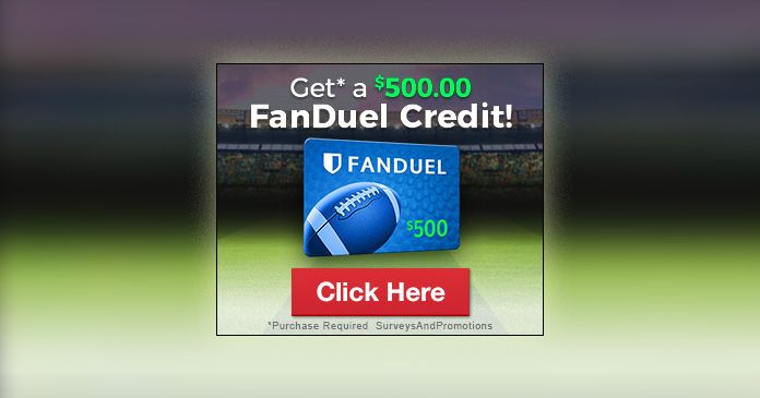 Get A 500 Fanduel Gift Card Simple And Easy Steps Restaurant Gift Cards Printable Gift Cards Sephora Gift Card