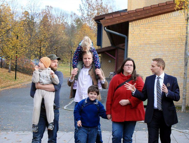 Tine kjemper mot budsjettkutt ved Haug spesialskole i Bærum.
