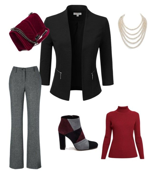 """Meeting day"" by wilma-bih on Polyvore featuring Doublju, Rumour London, DaVonna and Roberto Festa"