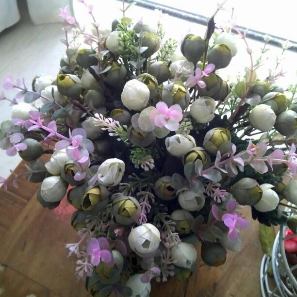 @elkedibarros- Flores artificiais, sim !