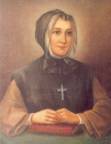 Celebrated 16th October     Marie Marguerite d'Youville Born 1701 Died 1771   MARGUERITE d'YOUVILLE, the first native Canadian to be el...