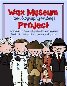Wax Museum & Biography Writing Project