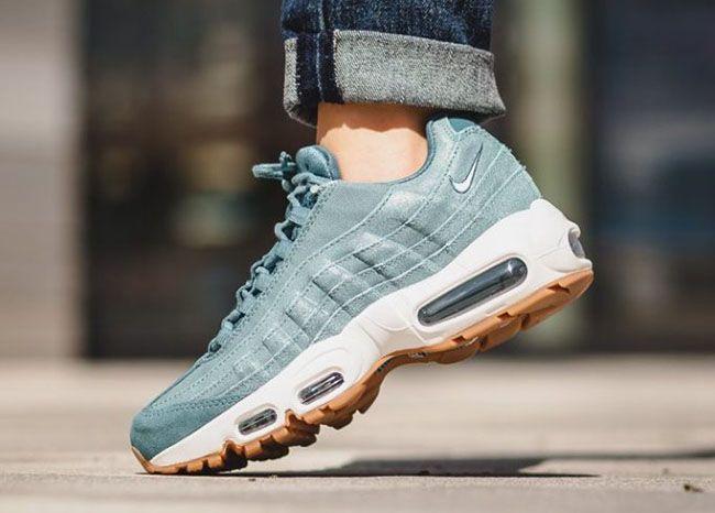 http://SneakersCartel.com Nike Air Max 95 Premium 'Smokey Blue' and 'Pink Oxford' #sneakers #shoes #kicks #jordan #lebron #nba #nike #adidas #reebok #airjordan #sneakerhead #fashion #sneakerscartel