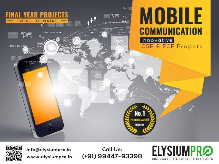 #ElysiumPro #ProjectCenter #MobileComputing Implement your project ideas with professional help See more: http://elysiumpro.in/ieee-mobile-computing-projects/