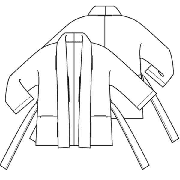 Kimono jasje (PDF patroon) - Jasje - Vrouw - Shop