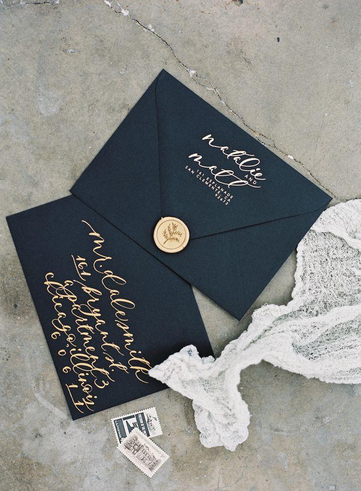 Main Invitation Envelope 114 best Addressing