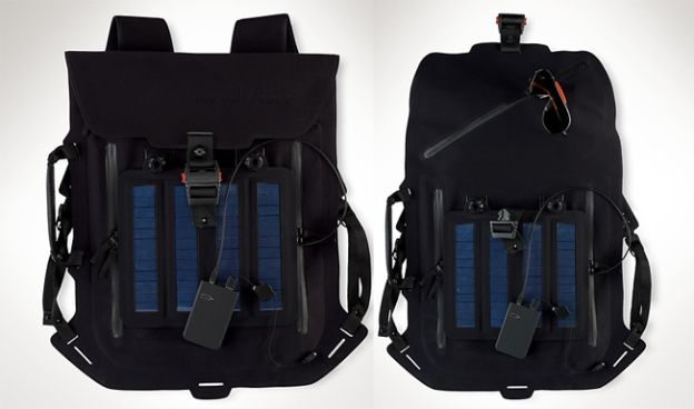 We'll be honest, we didn't quite expect Ralph Lauren to be the company to introduce a useful solar-powered backpack to power our gadgets while on the move. The Ralph Lauren RLX backpack offers a pretty large solar panel built in to the back of the backpack, one that the company says can charge a phone in around two hours. The backpack itself is water-resistant, with a decent amount of pockets and storage space, and generates a 3.45 watt current which is enough for most any mobile device or…