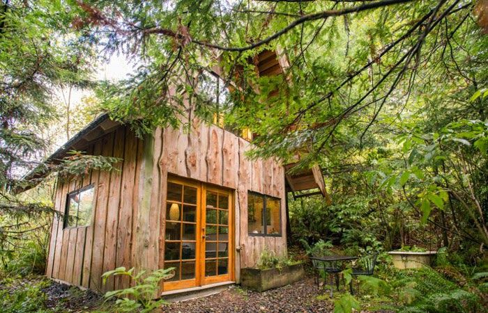 5.  A Japanese Forest House, Oregon  Check out this cool Airbnb you can rent in Nehalem, Oregon. Click here for more info.