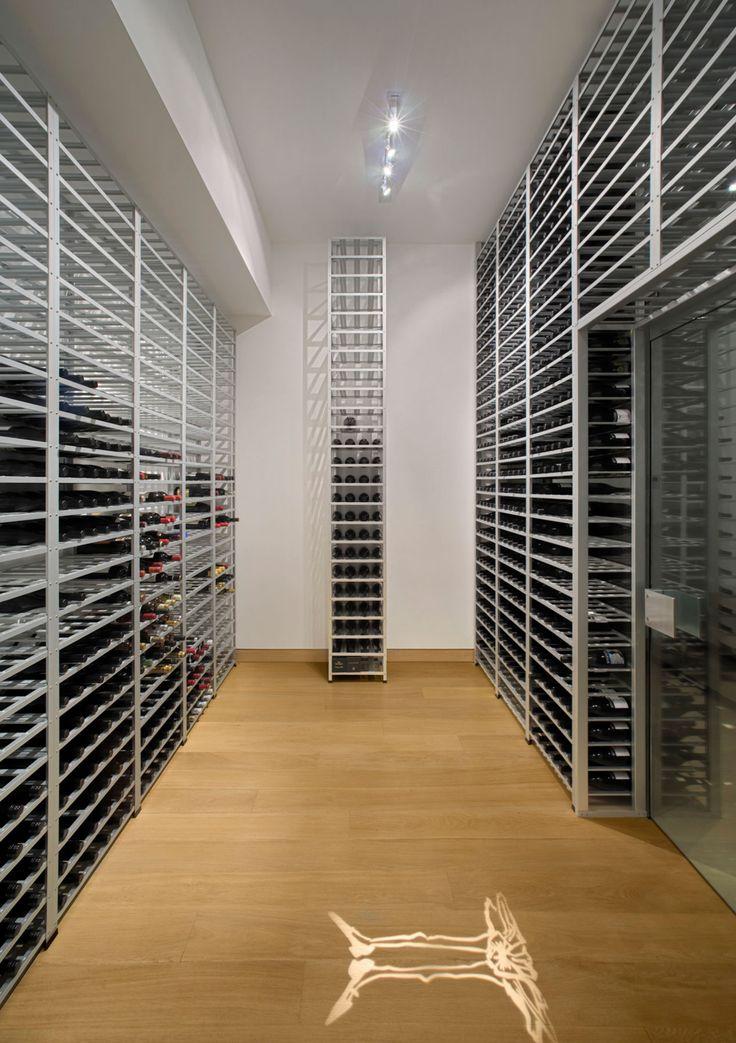Beautiful Residence In Aspen By Studio B Architects · Cellar IdeasWine  StorageRestaurant IdeasWine CellarsWine RackBar ...