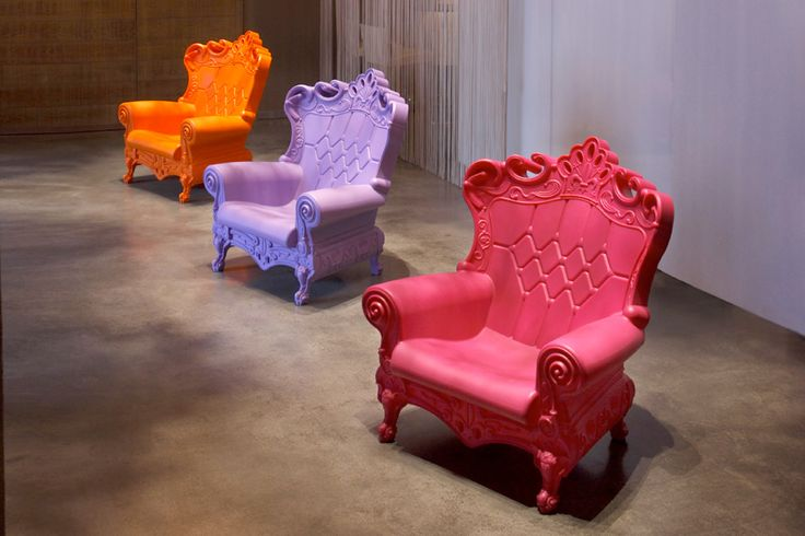 OMG, wonderful chairs made of recycled products