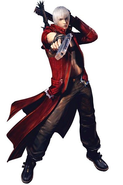 Devil May Cry 3 Dante Halloween Costumes Cosplay
