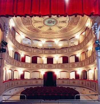 Town Theater Eliodoro Sollima in #Marsala, Sicily | A tiny Opera House for only 300 people | Open for visits
