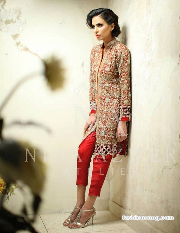 Nida Azwer Formal Wear Collection 2015 In Stores