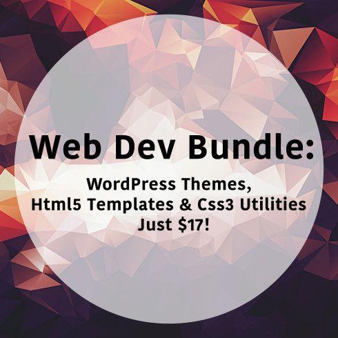 3 WordPress Themes, 10 Html5 Templates & 8 Css3 Utilities – Just $17!