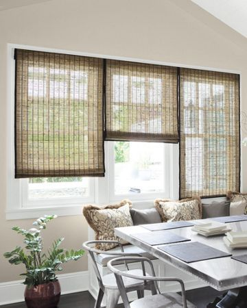 22 best stylish wooden blind inspiration images on for Smith and noble bamboo shades