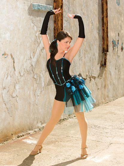 Kick It - Style 0440   Revolution Dancewear Jazz/Tap Dance Recital Costume