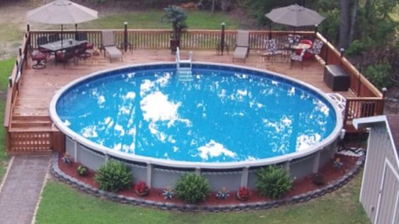 Pool Deck Ideas For Inground Above Ground – Home Improvement Diy|Easy Home Improvement Diy|Home Improvement Ideas|Home Improvement Tips