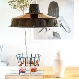 Fabriklampe Loftlampe Küche Esszimmer INSPIRATIONEN - lautentico