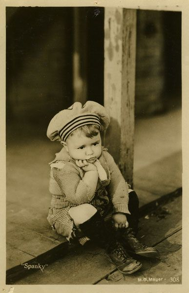 Spanky,  The little Rascals, TV Show when we were little. For many yrs. This was on TV Even today. Sometimes it will be on.........