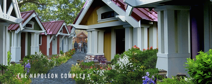 The Napoleon Complex | Four Lights Tiny House Company