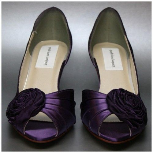Purple Wedding Shoes Comfortable