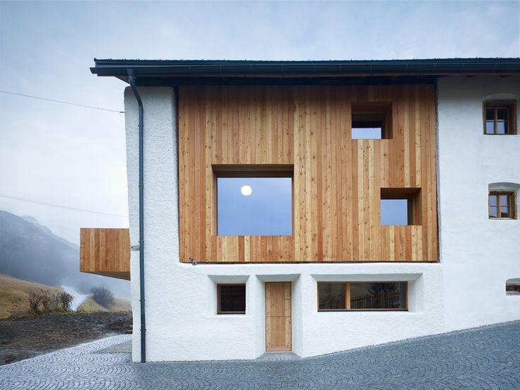 Sanierung Wohnhaus Florins, Baumhauer Architekten, Foto: Ruedi Walti